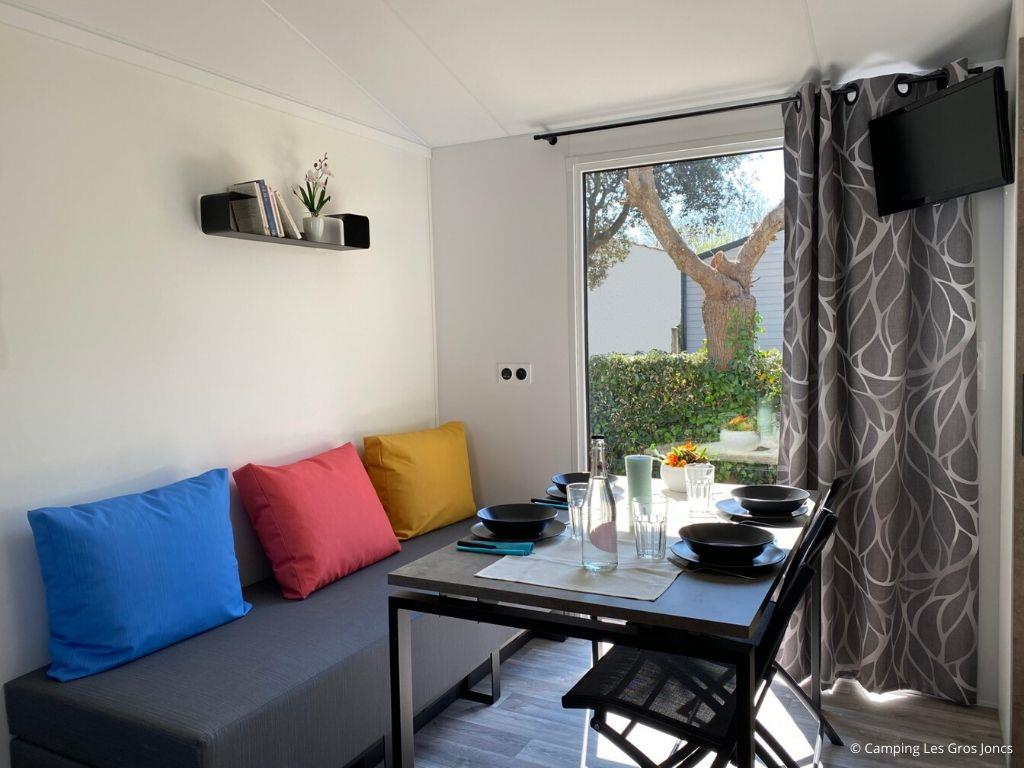 Location - Mobil Home Malaga - Camping Les Gros Joncs