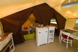 Tenda Cotton Lodge 20M² (2 Camere) - Senza Sanitari