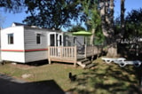 Rental - Mobilhome Basic Eco 25.80M² - AIROTEL Camping LES RAGUENES PLAGE