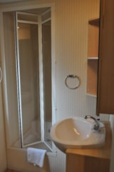 Rental - Mobile home COTTAGE MODESTY 30m² - AIROTEL Camping LES RAGUENES PLAGE