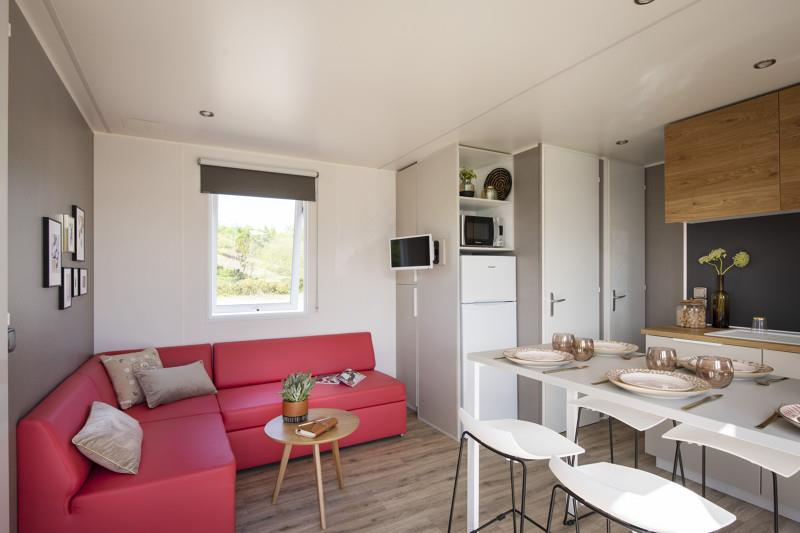 Locatifs - Mobilhome Xl Premium 3 Chambres 33 M² + Terrasse 11 M² - AIROTEL Camping LES RAGUENES PLAGE