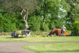 Pitch - Pitch for camper with bicycle only, no motor vehicle - Airotel Camping Etang des Haizes