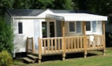Rental - MOBIL-HOME 27/32m² - 2 bedrooms - - Airotel Camping Etang des Haizes