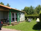 Rental - CHALET LOISIR 30m² - 2 bedrooms - - Airotel Camping Etang des Haizes