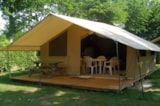 Rental - TENTE NATURE 25m² - without bathroom - - Airotel Camping Etang des Haizes