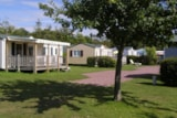 Rental - Mobil-home 27/32m² with TV - 2/5 pers. - Airotel Camping Etang des Haizes