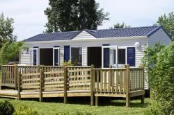 Wheelchair friendly Airotel Camping Etang Des Haizes - La Haye