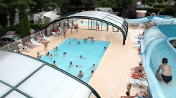 Bathing AIROTEL Camping BEAU RIVAGE - BELLERIVE SUR ALLIER