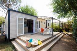 Location - Lodge 32M² - 3 Chambres - Camping La Nouzarède