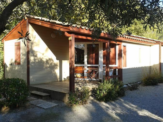 Chalet DETENTE HAVITAT 29 m² (1 double bed + twin beds + a bunkbed)