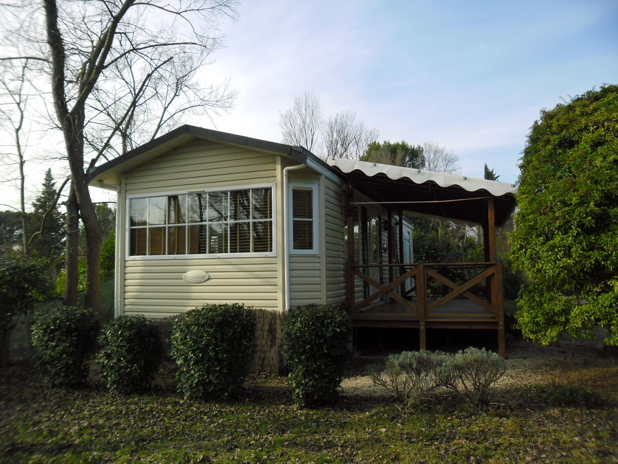 Mobil Home CASTELANE 44 m² (1 double bed + 2 single beds)