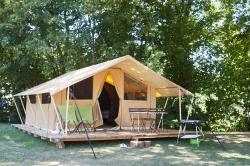 Classic IV Wood&Canvas tent without toilet blocks