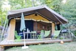 Leje - Sweet + Wood & Canvas tent - Huttopia Saumur