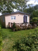 Rental - Wooden chalet (n° 24) - Camping Les Pommiers des 3 Pays