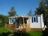 Rental - Mobile home (n°12) - Camping Les Pommiers des 3 Pays