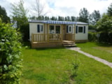 Rental - Mobil home 55 - Camping Les Pommiers des 3 Pays