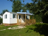 Rental - Mobile-home 6 - Camping Les Pommiers des 3 Pays