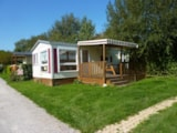 Rental - Mobilhome 2 bedrooms (n°45) - Camping Les Pommiers des 3 Pays