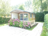 Rental - Chalet 'Access' (N°23) For People With Reduced Mobility - Camping Les Pommiers des 3 Pays
