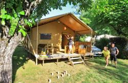 Tente Safari Lodge CONFORT + 35 m² - 2 chambres (lundi)