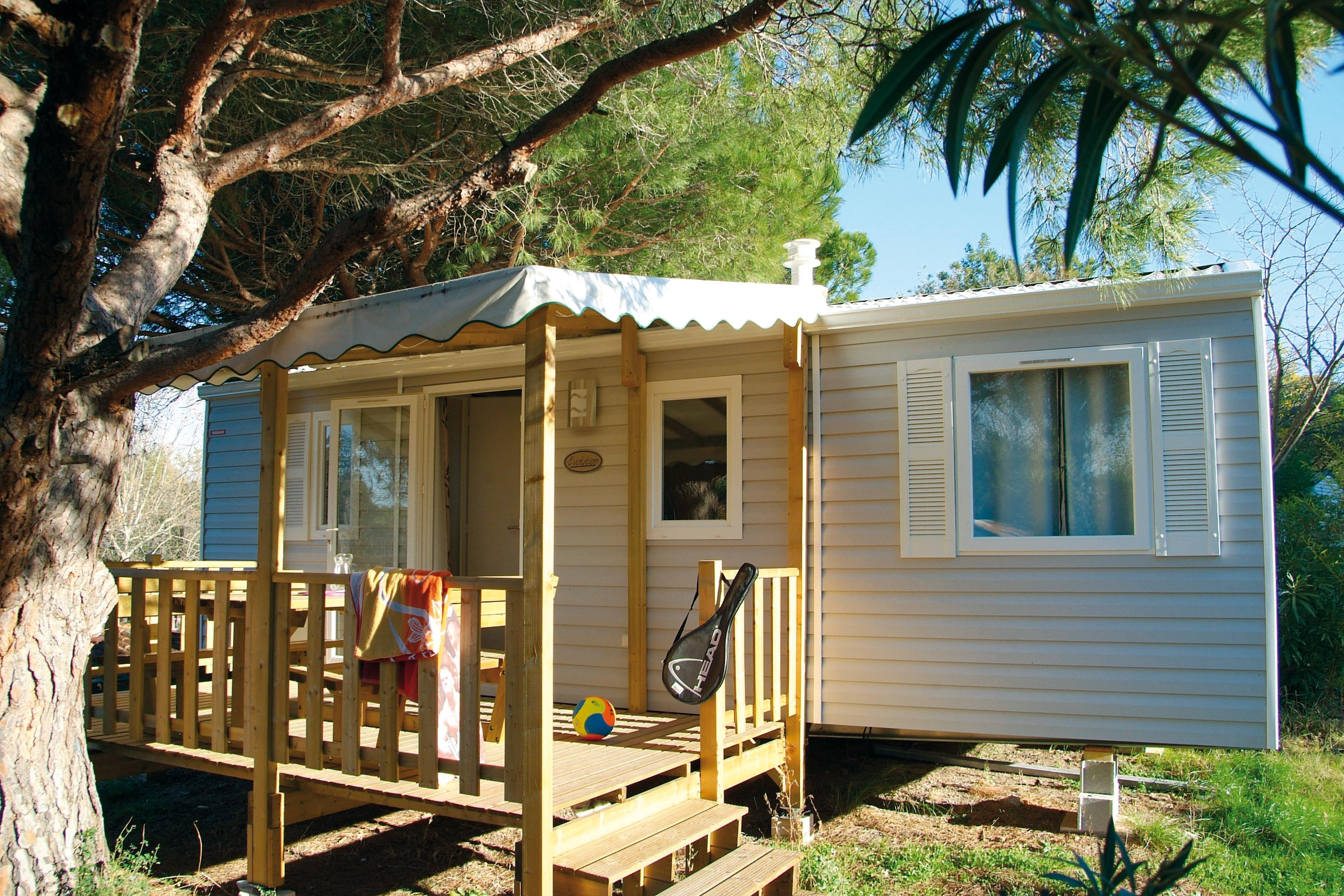 Location - Mobilhome Julius Confort 31M² (3 Chambres) - Camping Le Fréjus