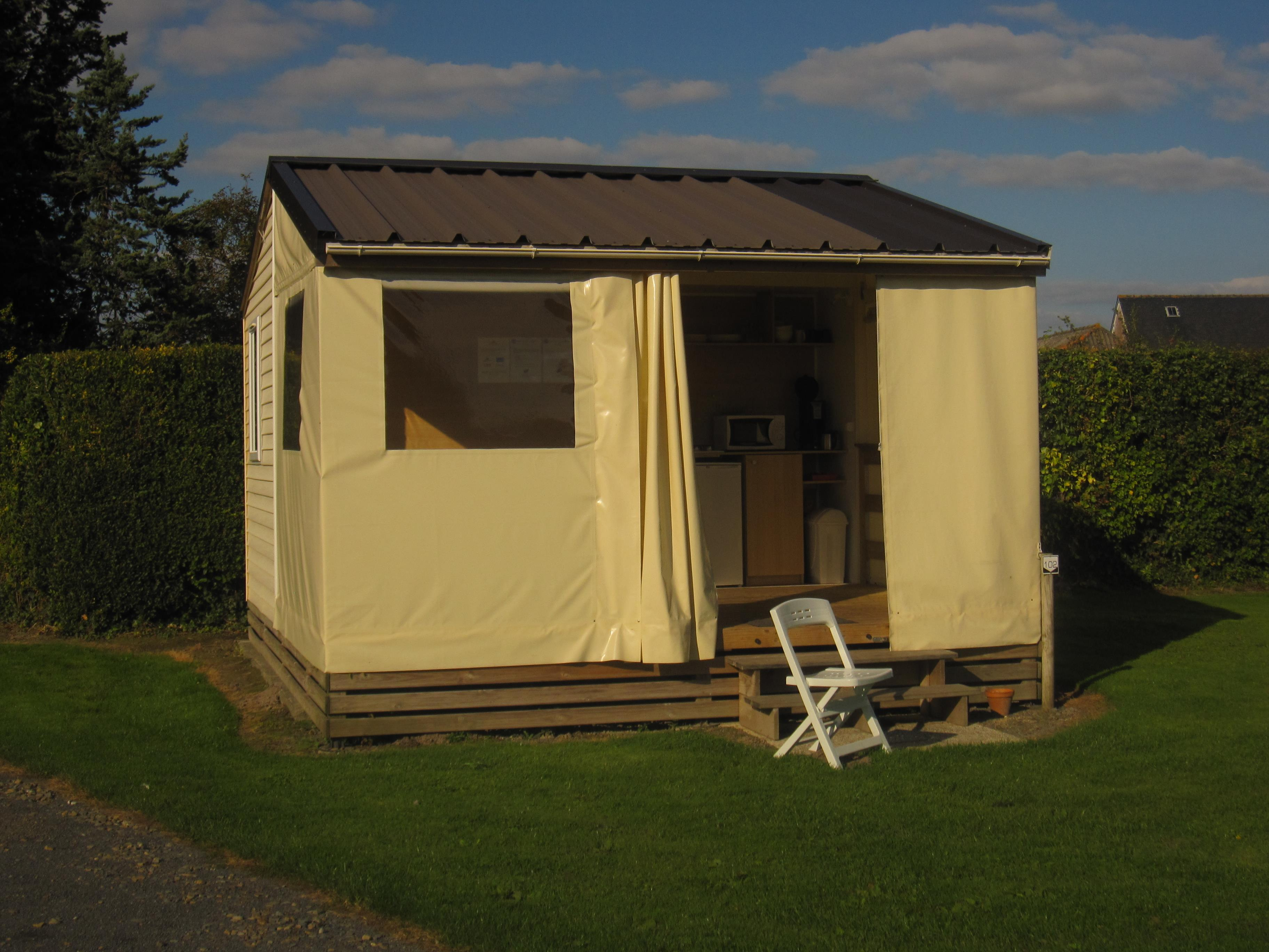 Location - Mobil Home Titom 2 Chambres - Camping Aux Pommiers