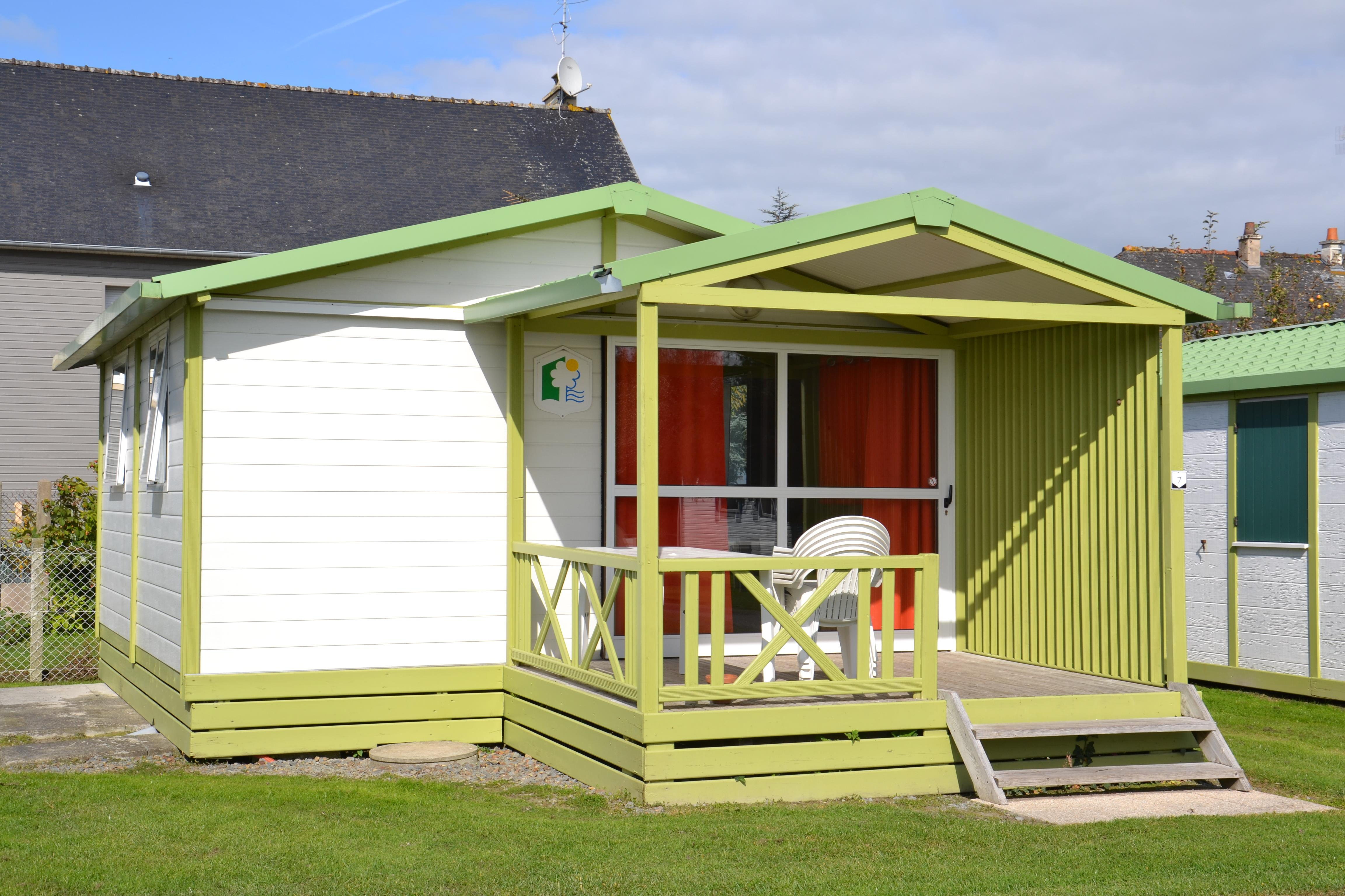 Location - Chalet 2 Chambres - Camping Aux Pommiers