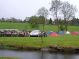 Pitch - Pitch + tent or caravan - Camping Saint Paul