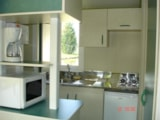 Rental - Chalet Morea 25m² - 2 bedrooms - Camping Saint Paul