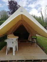Rental - Equipped Tent For Rent Canada Treck 9M² - 1 Bedroom - Without Toilet Blocks - Camping Saint Paul