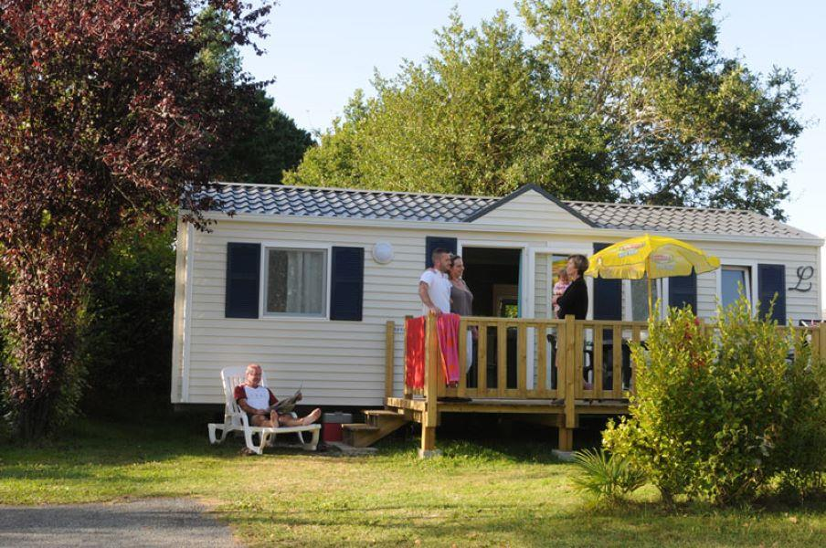 Location - Mobil-Home Tamaris - 3 Chambres - Camping de la Piscine