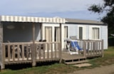 Rental - COTTAGE SUPER FAMILY TV  bedrooms 36.73m² 2WC 2 bathrooms Wooden terrace Low season 18m2 - Camping LE PANORAMIC