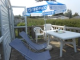 Rental - COTTAGE MERCURE TV 27.5m² - 2 bedrooms + terrace - Camping LE PANORAMIC