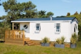 Rental - COTTAGE MARINA 2 bedroomsTV PACK+ : 29.18m² + Terrasse semi-couverte - Camping LE PANORAMIC