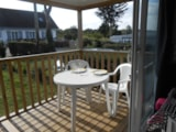 Rental - COTTAGE PANORAMA 2 bedrooms TV PACK+ : 25 m² + 8 m² sheltered terrace - Camping LE PANORAMIC