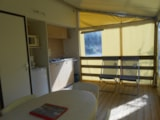 Rental - TITHOME 25m²  2 bedrooms - Camping LE PANORAMIC