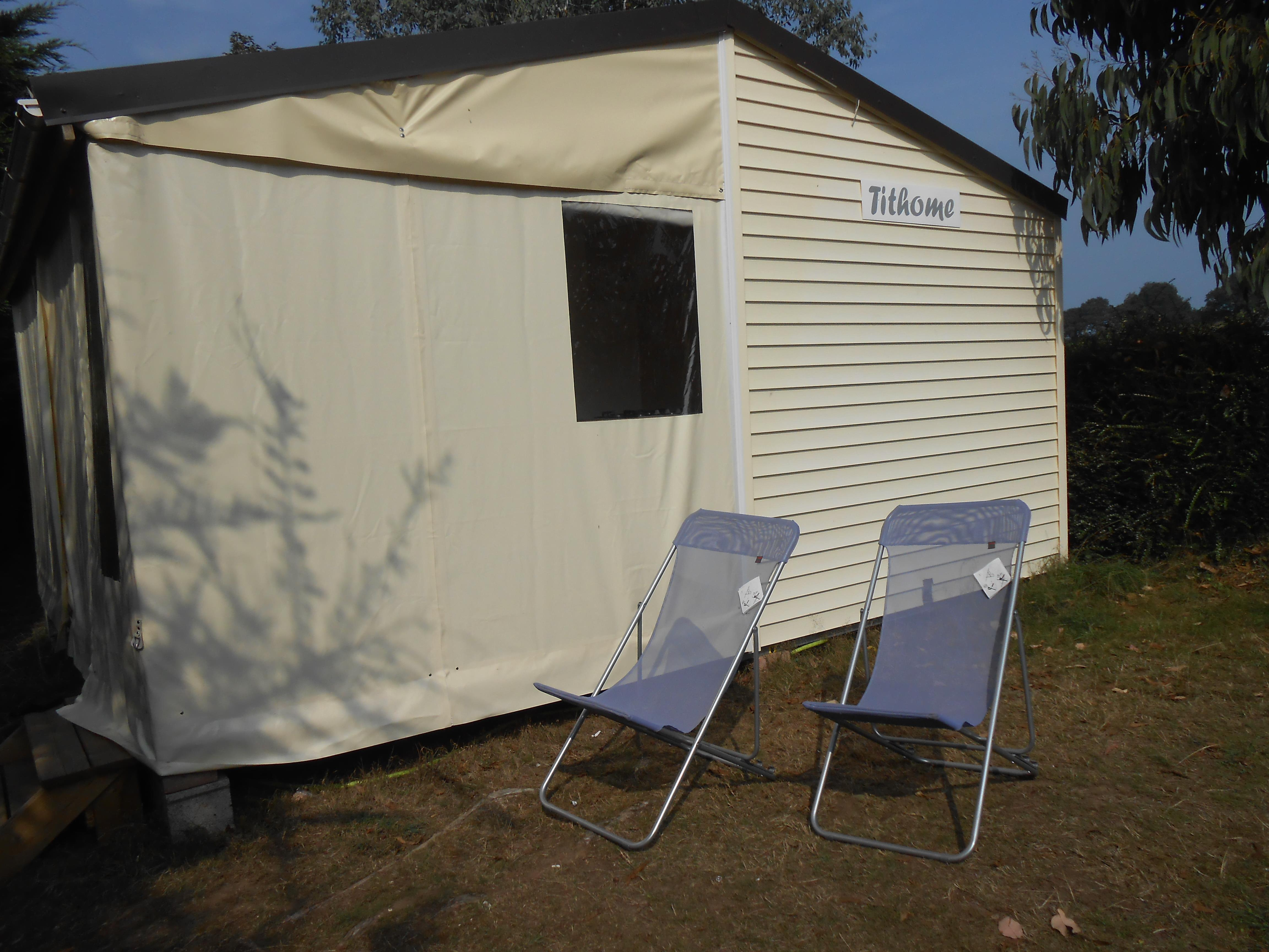 Location - Tithome 25M²  2 Chambres - Camping Le Panoramic