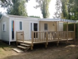 Rental - COTTAGE NIRVANA 2 bedrooms  TV PACK+ : 31 m2 + sheltered terrace - Camping LE PANORAMIC