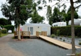 Rental - COTTAGE IBIZA 2 bedrooms  TV PACK+ :  31 M2 + terrace - Wheelchair friendly - Camping LE PANORAMIC