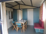 Rental - CHALET 2 bedrooms 24m² covered terrace 9m² - Camping LE PANORAMIC