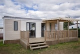 Rental - COTTAGE NIRVANA 3 bedrooms TV PACK +: 32 m² + sheltered terrace - Camping LE PANORAMIC