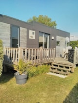 Rental - Mobil-Home Taos 4 People, With Terrace, Dish Washer, Washing Machine ... - Camping LE PANORAMIC