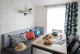 Rental - NEW 2019 MOBIL-HOME MALAGA, 3 bedrooms, kitchen with dishwasher, bathroom, separed toilet, - Camping LE PANORAMIC