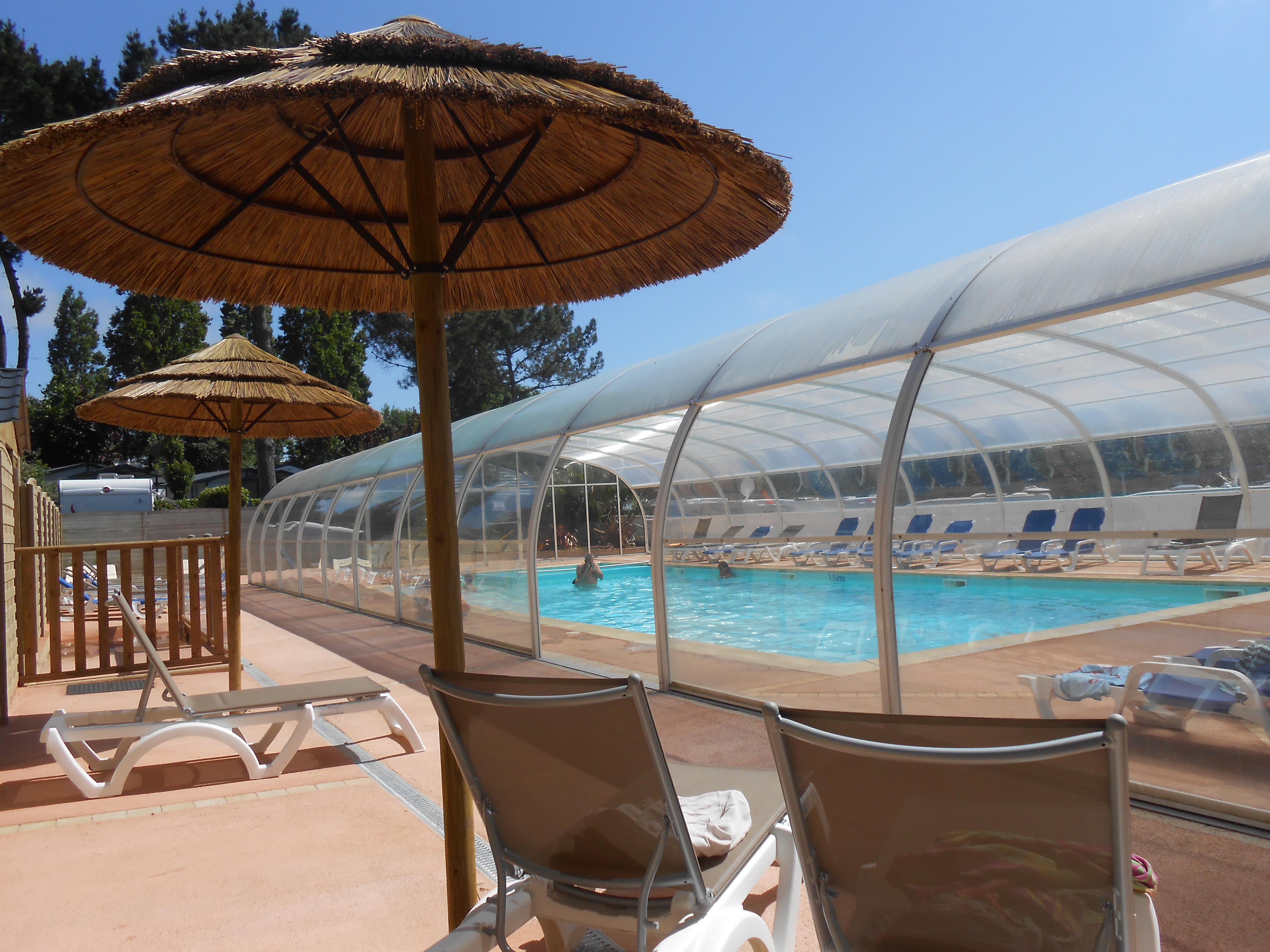 Mare, piscina Camping LE PANORAMIC - Binic