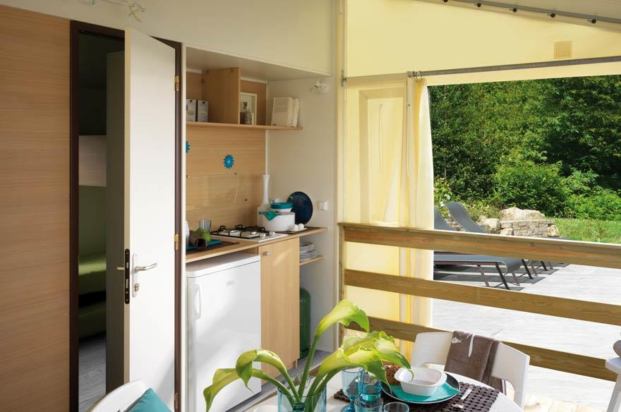 TITHOME Mobil-home sans sanitaire 4-5 pers
