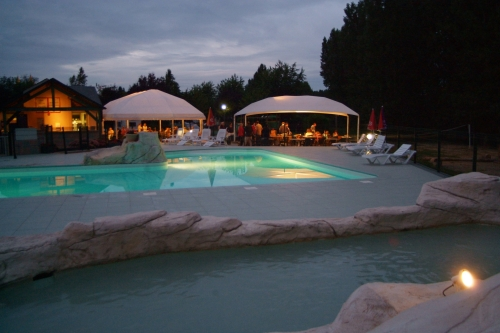 Bathing Camping La Citadelle - Loches En Touraine