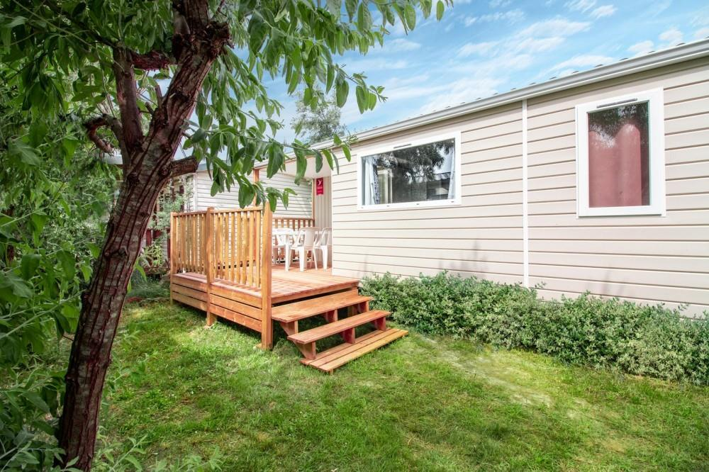 Location - Cottage Confort- 2 Chambres - Terrasse Intégrée - Camping Paradis le Pearl