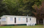 Huuraccommodaties - Mobilhome Oasis Panoramique ECO - 2 bedrooms - 4/6 pers. - Le Logis du Breuil