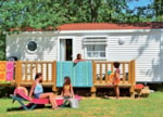 Huuraccommodaties - Stacaravan - Camping Sites et Paysages LOU P'TIT POUN