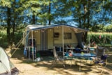 Pitch - Pitch With Vehicle + 1 Tent Or 1 Caravan Or 1 Motorhome + Electricity 10A - Flower Camping Lac du Marandan